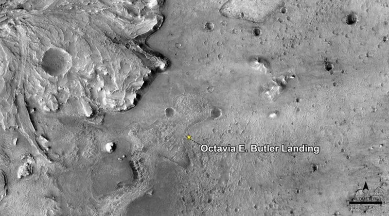 Le site datterrissage de Mars Rover porte le nom de