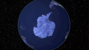 NASA nouvelles images satellites montrent le dernier iceberg gigantesque de la Terre