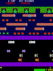 ss frogger arcade moment